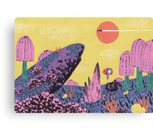 Alien Planet Canvas Print
