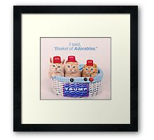 Half Of Trump Supporters. Framed Print