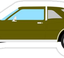 1977-1978 Dodge Diplomat - brown Sticker