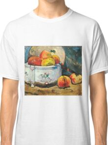 Paul Gauguin - Still Life with Peaches ( 1889)  Classic T-Shirt