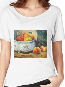 Paul Gauguin - Still Life with Peaches ( 1889)  Women's Relaxed Fit T-Shirt