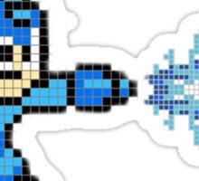 Megaman X Buster - Pixel Art Sticker