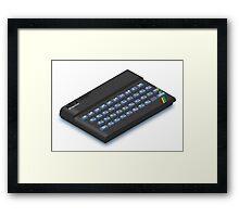 ZX Spectrum Framed Print