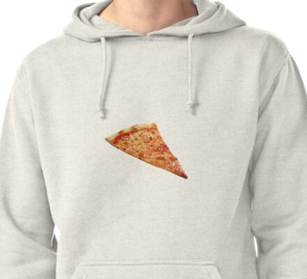 Pizza Slice Pullover Hoodie