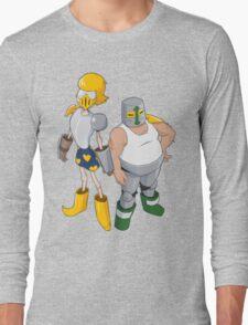 Lawrence & Jerry, the Rascaliburs! Long Sleeve T-Shirt