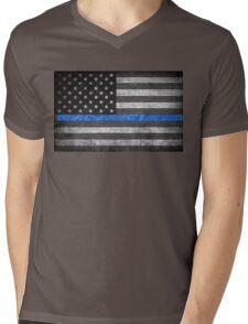 Thin Blue Line  Mens V-Neck T-Shirt