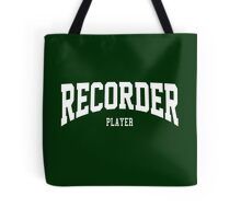 Recorder Player Tote Bag