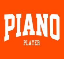 Piano Player Kids Clothes