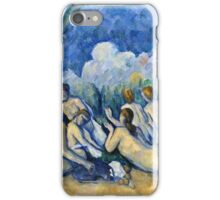 Paul Cezanne - Bathers (Les Grandes Baigneuses) (about 1894 1905)  iPhone Case/Skin