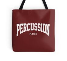 Percussion Player Tote Bag