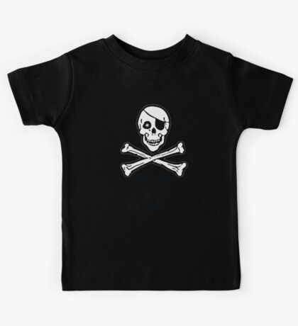Never Say Die (Black Text Clothing & Stickers) Kids Tee