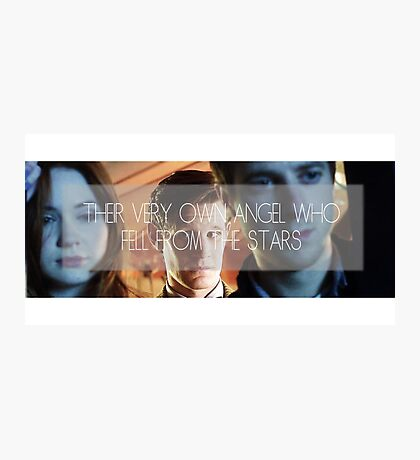 Doctor Who - Their Very Own Angel  Photographic Print