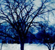 Winter Blues Sticker