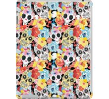 Cool pattern funny skulls iPad Case/Skin