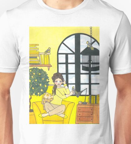 Lemon Yellow Unisex T-Shirt