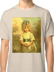 Miss Charlotte Papendick As A Child1788  Classic T-Shirt