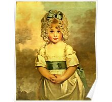 Miss Charlotte Papendick As A Child1788  Poster