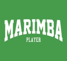 Marimba Player Kids Clothes