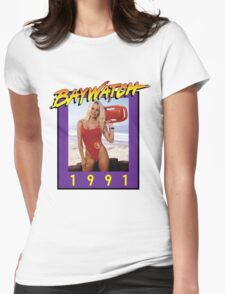 Misses Baywatch Womens Fitted T-Shirt