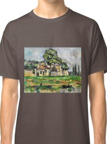 Paul Cezanne - Banks of the Marne (circa 1888)  Classic T-Shirt