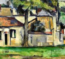 Paul Cezanne - Banks of the Marne (circa 1888)  Sticker