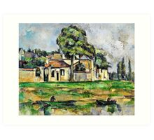 Paul Cezanne - Banks of the Marne (circa 1888)  Art Print