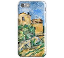 Paul Cezanne - Maison Maria with a View of Chateau Noir ( 1895)  iPhone Case/Skin