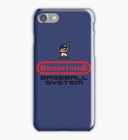 Benintendi Entertainment System - Red Sox iPhone Case/Skin