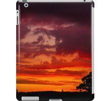 Sunset over Warwick iPad Case/Skin