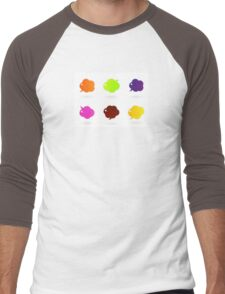 Vector speech glossy bubbles collection Men's Baseball ¾ T-Shirt