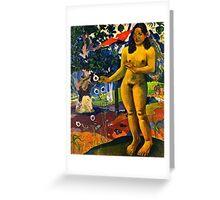 Paul Gauguin - Delightful Land (Te Nave Nave Fenua) (1892)  Greeting Card