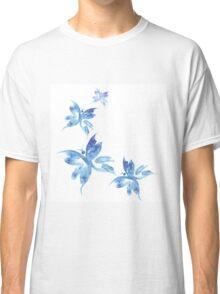 Beautiful watercolor butterflies pattern Classic T-Shirt