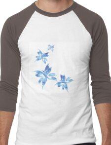 Beautiful watercolor butterflies pattern Men's Baseball ¾ T-Shirt
