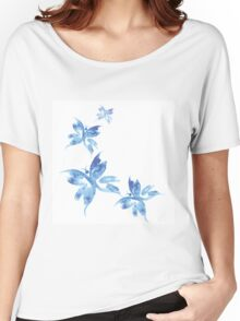 Beautiful watercolor butterflies pattern Women's Relaxed Fit T-Shirt