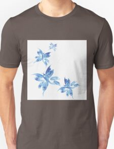 Beautiful watercolor butterflies pattern Unisex T-Shirt