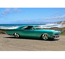 1963 Chevrolet Impala Custom Photographic Print