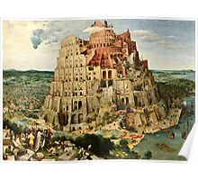 Pieter Bruegel the Elder -  Babylon  Poster
