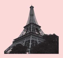 Eiffel tower in quartz Kids Tee
