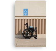 Handicapped Parking Canvas Print