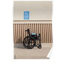 Handicapped Parking Poster