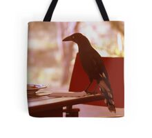 Magpie has breakfast Tote Bag