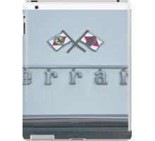 1967 Ferrari GTB4 Emblem/Logo iPad Case/Skin