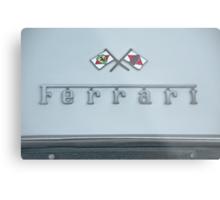 1967 Ferrari GTB4 Emblem/Logo Metal Print