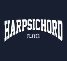 Harpsichord Player Kids Clothes