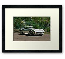 1970 Chevrolet Corvette Stingray 1 Framed Print
