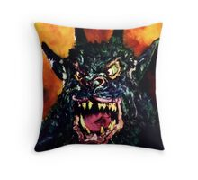 Curse of the Demon Throw Pillow