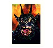 Curse of the Demon Art Print