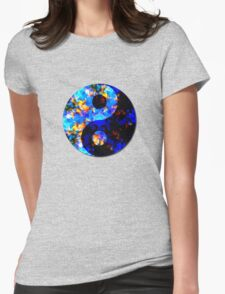 Psychedelic Balance  Womens Fitted T-Shirt