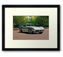 1970 Chevrolet Corvette Stingray 2 Framed Print