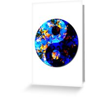 Psychedelic Balance  Greeting Card